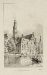 De Westerkerk en markt