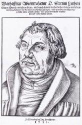 Warhafftige Abcontrafactur D. Martini Lutheri