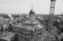 Singel 11, Ronde Lutherse Kerk, restauratie koepel en lantaarn
