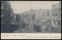 Eerste Constantijn Huygensstraat met rechts de Eerste Helmersstraat
