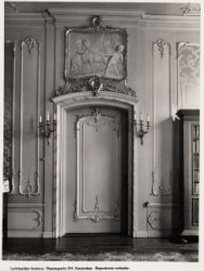 Interieur, Keizersgracht 317. Een binnendeur