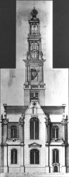 Westermarkt 64, niet gerealiseerd ontwerp van de Westerkerk
