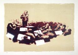 Bernard Haitink leidt het Concertgebouworkest in het concertgebouw, Van Baerlest…