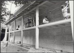 Het gebouwencomplex  van het voormalige Burgerweeshuis wordt gerenoveerd ten beh…