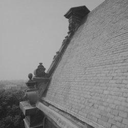 Prinsengracht 279, Westerkerk, detail van het dak