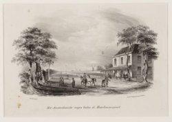 Het Amsterdamsche Wapen buiten de Haarlemmerpoort