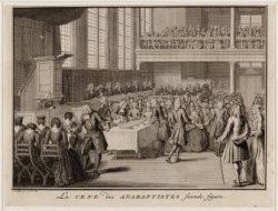 La cene des Anabaptistes seconde figure