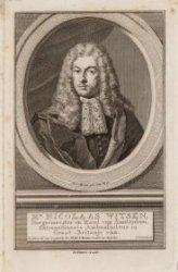 Portret van Nicolaas Witsen (1641-1717), burgemeester van Amsterdam 1682, 1685-1…