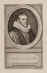 Portret van Casparus Barlaeus (1584-1648), hoogleraar Latijn, redenaar en Latijn…
