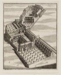 De Kloosters der Oude en Nieuwe Nonnen. Ao. 1544