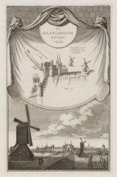 De Haarlemmer Poort. 1544