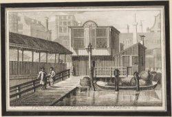 Comtoir van het Sint Pieters Gild op de Groote Vismarkt te Amsterdam 1769
