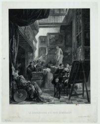 Le Bourgmestre Six chez Rembrandt