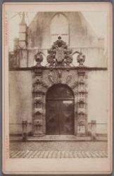 Het poortje van de Agnietenkapel, Oudezijds Voorburgwal 231