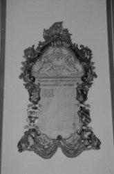 Kalverstraat 92, Burgerweeshuis, naamlijst van de bestuursleden in de regentenka…