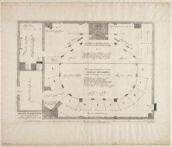 Grontteekening vande Schouburg t'Amsterdam, gesticht in t Jaar 1637