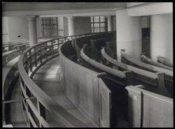 Singel 11, Ronde Lutherse Kerk, interieur