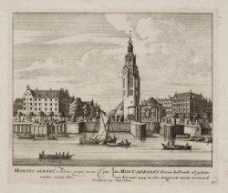 De Mont-Albaans Tooren; hebbende al gestaan voor het Jaar, 1544, en, 1610, met g…