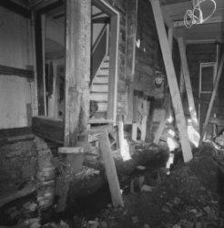 Elandsgracht 83, interieur tijdens restauratie