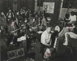 Boy Edgar en de Boys Big Band in het Shaffy theater, Keizersgracht 324