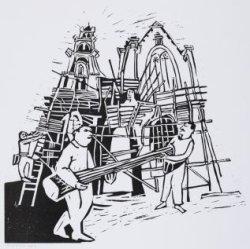 Westerkerk in de steigers
