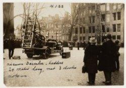 Demonstratie ladderwagens, Westermarkt