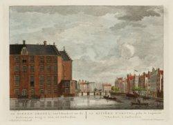 De Binnen Amstel, van ''t Rondeel na de Halvemaans Brug te zien, tot Amsterdam