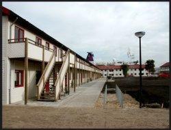 Stavangerweg e.o. met voormalige asielzoekerswoningen