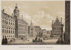 Stadhuis en marktplein (18e eeuw)