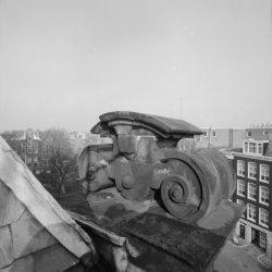 Prinsengracht 279, uitzicht vanaf de Westertoren, links Prinsengracht 154 - 158 …
