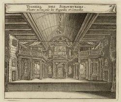 Het toneel van de amsterdamsche Schouwburg, Keizersgracht 384, ook wel Costers A…