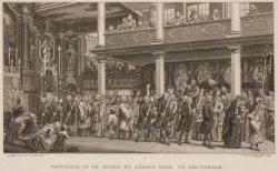 Processie in de Moses en Aärons Kerk te Amsterdam