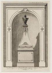 Afbeelding van een Metaale KAGGEL, geplaast in Scheepens Kamer te Amsterdam Ao 1…