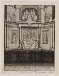 Tombe de L''Admirael de Ruyter, à Amsterdam