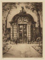 Tuinhuis van perceel Heerengracht 546, over het Thorbeckeplein