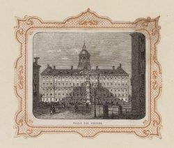 Het Koninklijk Paleis omstreeks 1860