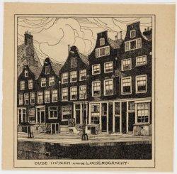 Oude huizen aan de Looiersgracht