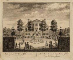 't Huis van den H. Esaie Gillot van voren te zien