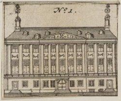 De Prinsenhof, voorgevel aan de binnenplaats