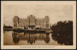 Amstel, Amstel Hotel bij haar voltooing in 1870