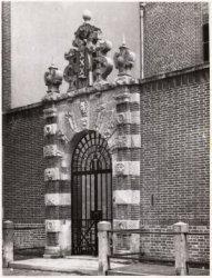 Het toegangspoortje tot de Agnietenkapel, Oudezijds Voorburgwal 231