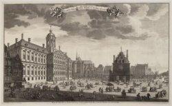 Afbeeldinge van het Stadhuys, Nieuwe-Kerk, Waag etc. Tot Amsteldam