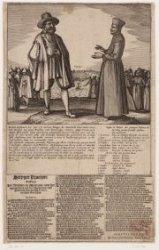 Steyger Praetgen tusschen Jan Batavier en Maetroos over het apprehenderen van de…