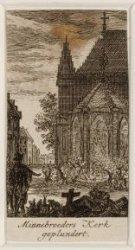 Minnebroeders Kerk geplundert