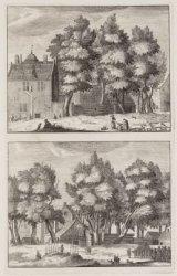 Het Kleine Karthuizers-Hof, het Groote Karthuizers-Hof, omtrent den jaare 1630