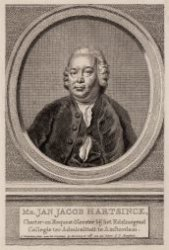Portret van Jan Jacob Hartsinck (1716-1779)