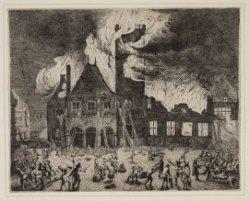 De Brand van het Oude Stadhuis, 1652