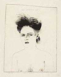 Portret van Lourens, een punker, Derde Oosterparkstraat 52