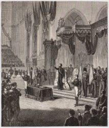 Inhuldiging van Z.M. Koning Willem III