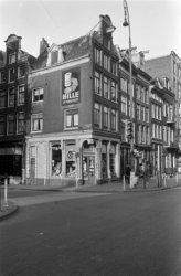 Westermarkt 1-9 en links Keizersgracht 200, gefotografeerd in opdracht van makel…